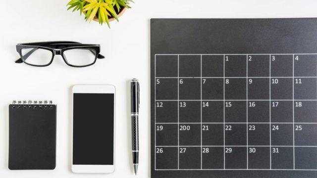 【Googleカレンダーアプリ】複数のアカウントの予定を同じカレンダーに表示する方法